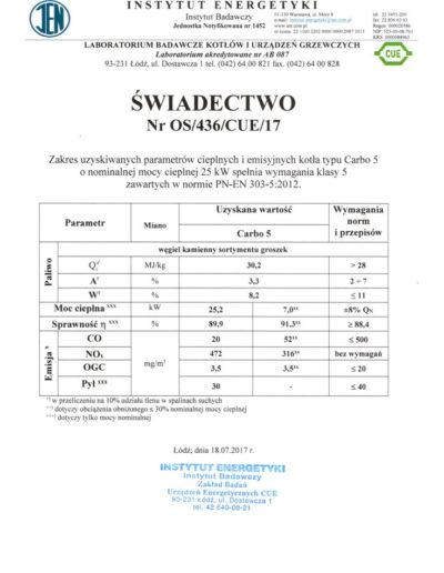 certyfikat-5-klasa-carbo-5