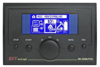 sterownik Key Eco Logic RK-2006LPG2