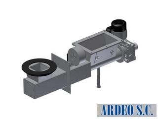 podajnik stalowy ślimakowy firmy ARDEO